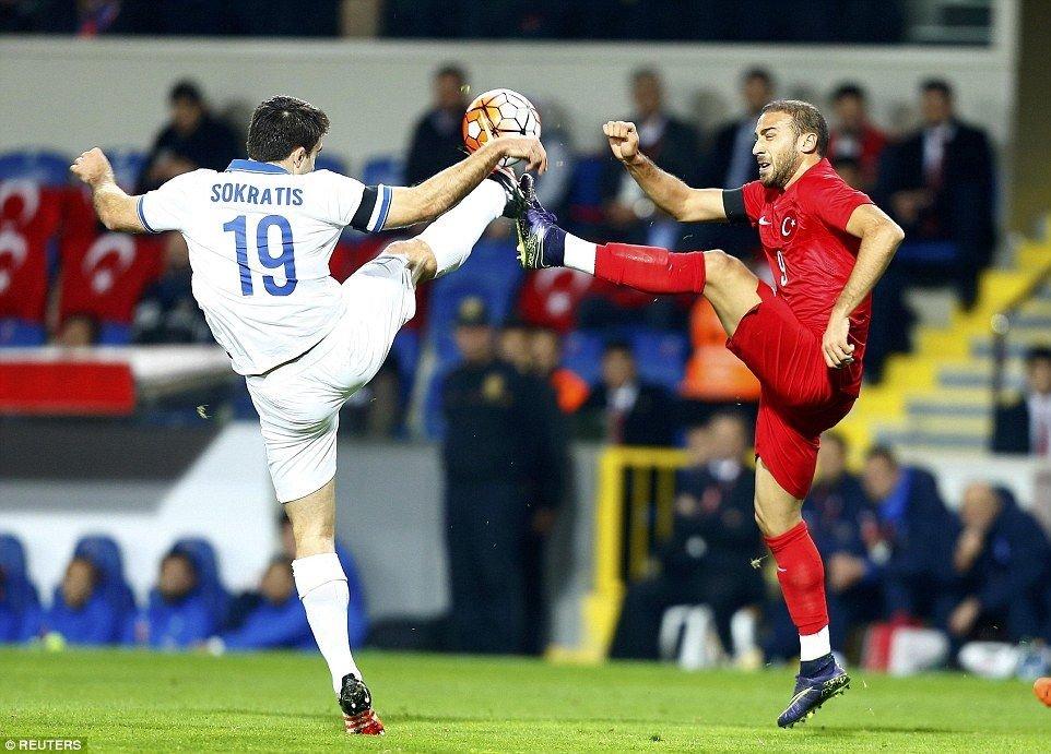 Soccer Friendly: Turkey - Greece